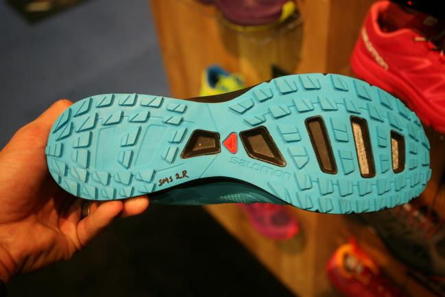 Similar outsole design to the Sense 4 and should offer good varied surface grip.