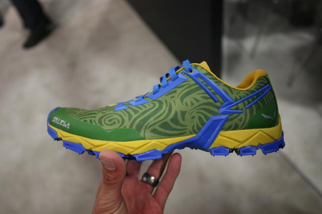 Salewa Lite Train. A fantastic looking light and fast shoe with minimalistic design features.