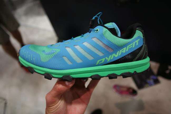 Great looking upper and design all around. Minimalist at its core, but enough shoe to consider for full on racing and training. Feline Vertical in pic.