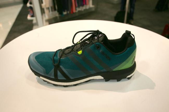 Such a big improvement in the upper from the Terrex Boost. No speedlaces, seamless, simple.