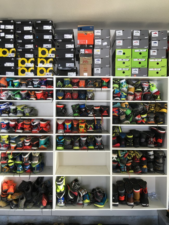 So many shoes to try!