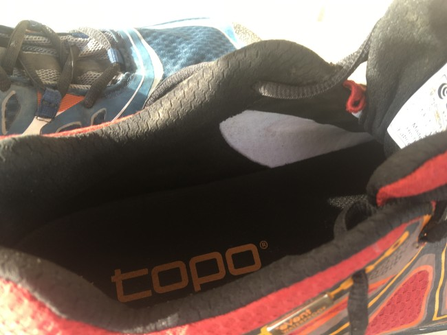 Hydroventure interior is simple and just like regular shoe construction, despite being waterproof.