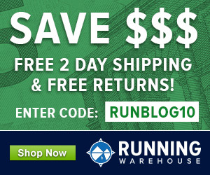 Running Warehouse Runblogger Sidebar