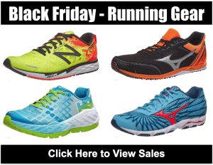 2017 Black Friday and Cyber Monday Running Shoe and Gear Deals